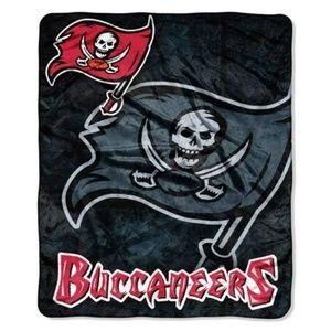 Tampa Bay Buccaneers 50x60 Royal Plush Throw
